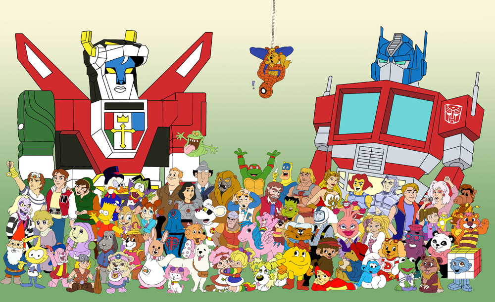 Cartoon Characters In The 80s : Forgotten cartoons from my childhood funk s house of