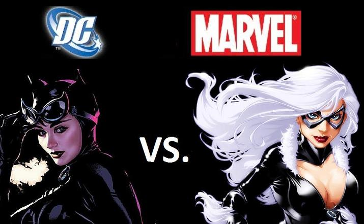 Dc Vs Marvel Catwoman Vs Black Cat Funk S House Of Geekery