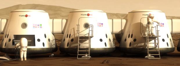 The Mars One Domes.