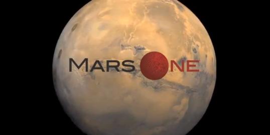The Mars One Logo.