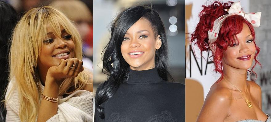 Rihanna has changed her hair more times than we can count and in doing so  has explored many different hair colors and she looks equally awesome in  all of ...
