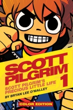 Scott Pilgrim Cover Color