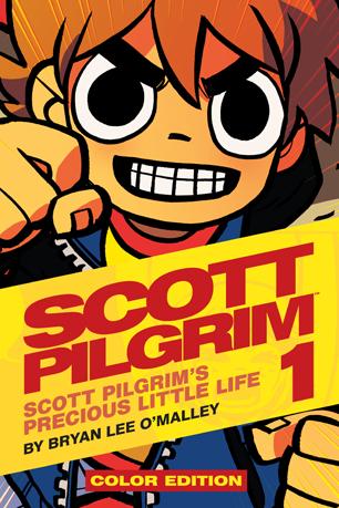 Scott Pilgrim Cover Color