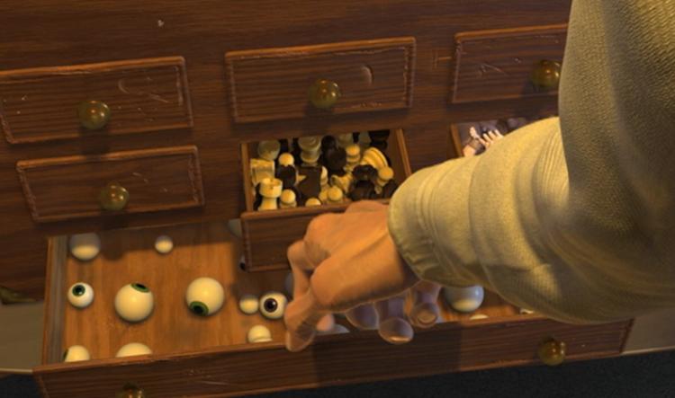 Disney Pixar Monsters University 3 Piece Room In A Box: Top 12 Easter Eggs In Pixar Films