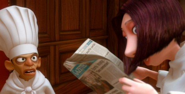 Bomb Voyage Newspaper Ratatouille