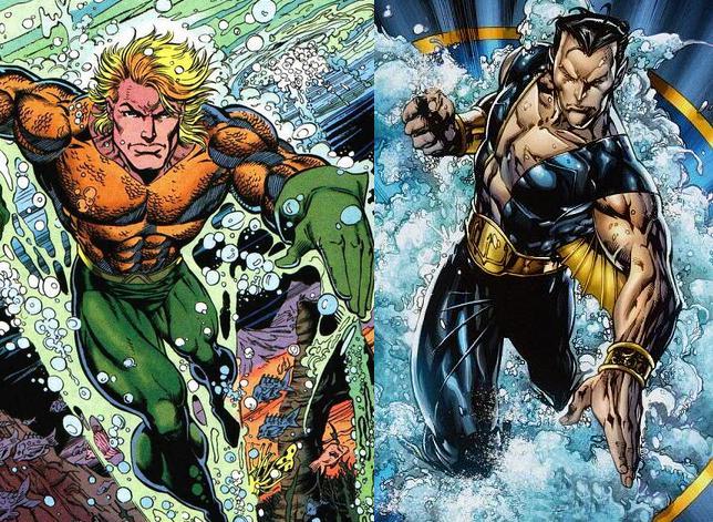 Nouveau Jeu - DC vs Marvel : AMALGAM COMICS ! Aquanamorapparal