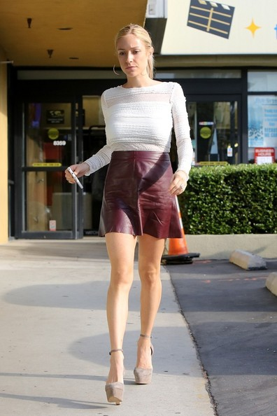 Celebrity Trend Leather Skirts And Dresses Funk S House