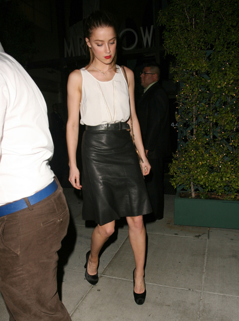 Celebrity Trend: Leather Skirts and Dresses | Funk's House of Geekery
