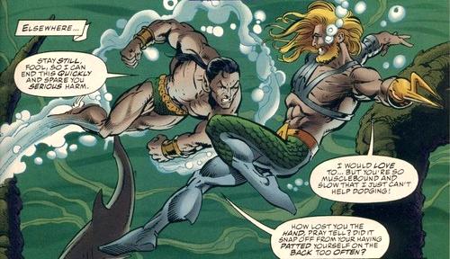 Dc Vs Marvel Aquaman Vs Namor The Sub Mariner Funks House Of