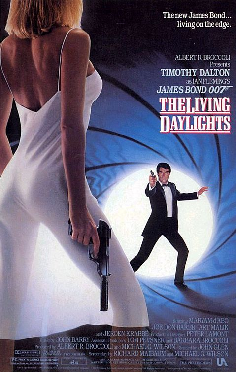 Movie Review: 'The Living Daylights' (50 Years of Bond ... Caroline Bliss Moneypenny
