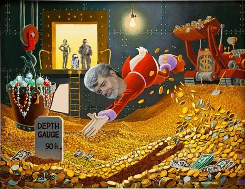 George Lucas Scrooge