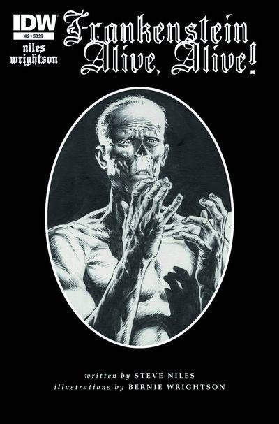 Frankenstein IDW Steve Niles Bernie Wrightson