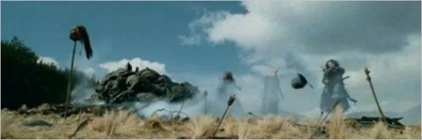 Aragorn breaks toe