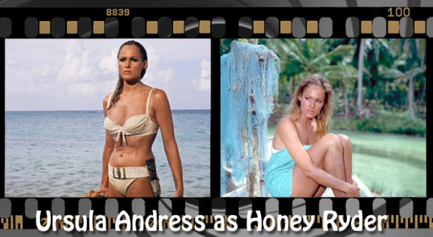Honey Ryder Ursela Andress