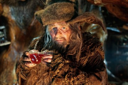 "Radagast the Brown was one of the more ""fantasy"" aspects of the movie"