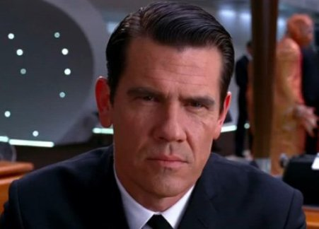 Josh Brolin's performance as a Young Agent K was incredibly fun