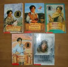 The books in the Rowan of Rin series