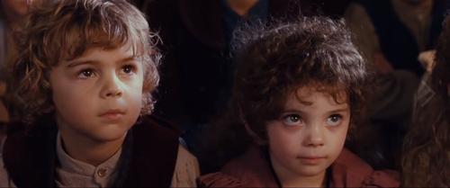 Cute Hobbit Children