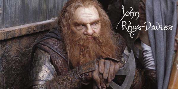 Gimli John Rhys-Davies