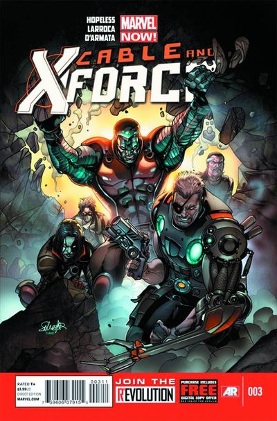 Cable X-Force Marvel