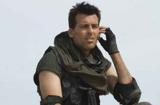 Oded as Carlos in Resident Evil: Extinction