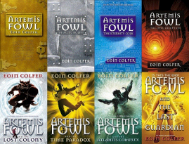 All eight books in the series.