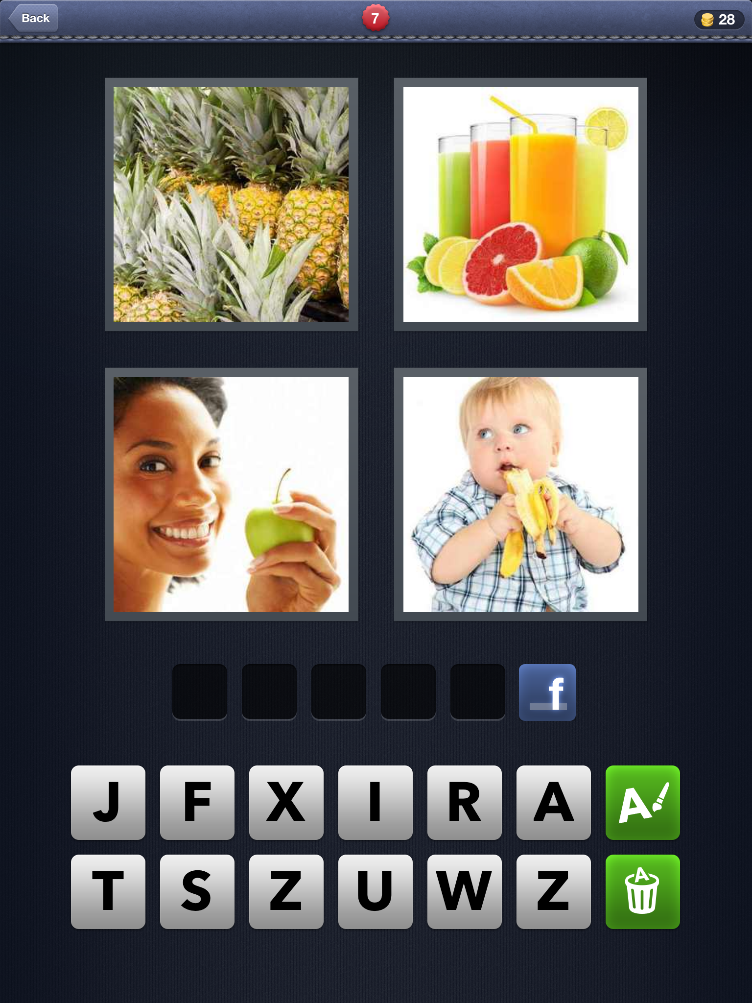 4 Pics 1 Word 7 Letters - Game Solver