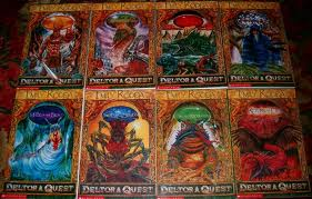 The books in the first Deltora Quest series