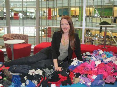 Erin Cummings, founder of Mittens For Detroit