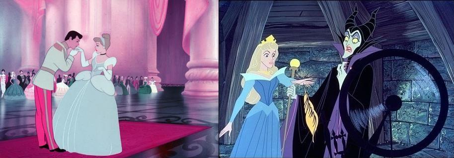 Cinderella 1950 Vs Sleeping Beauty 1959 Funks House Of Geekery