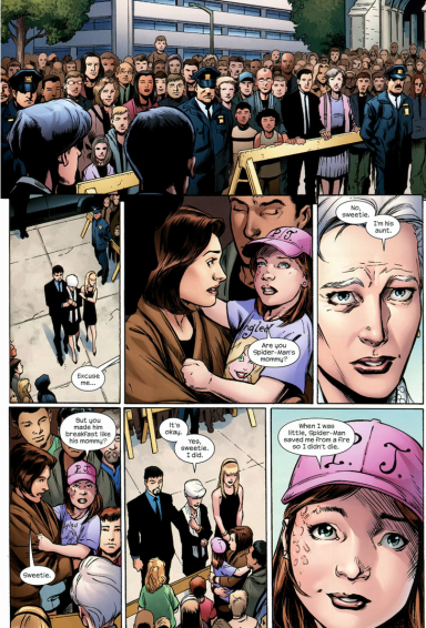 Spider-Man funeral