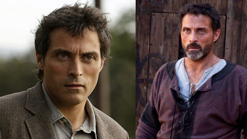 Rufus Sewell in The Eleventh Hour and Pillars of the Earth.