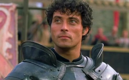 Rufus Sewell in A Knight's Tale.