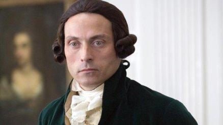 Rufus Sewell as Alexander Hamilton in John Adams.