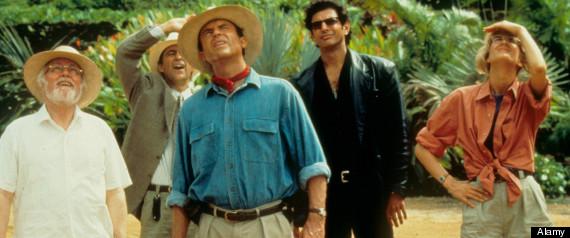JURASSIC PARK (1993) RICHARD ATTENBOROUGH, MARTIN FERRERO, SAM NEILL, JEFF GOLDBLUM, LAURA DERN JUR 013 L