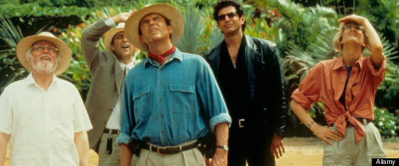 JURASSIC PARK (1993) RICHARD ATTENBOROUGH, MARTIN FERRERO, SAM NEILL, JEFF GOLDBLUM, LAURA DERN JUR 013 L