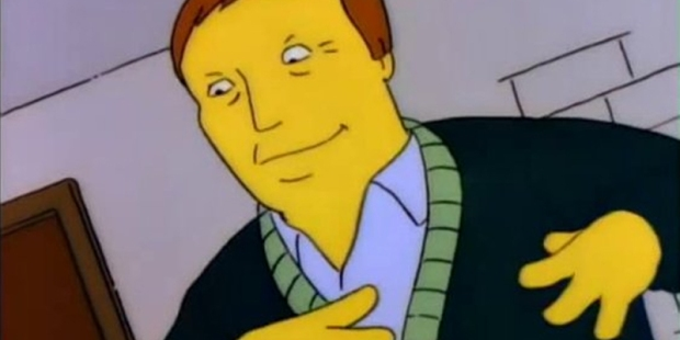 Simpsons Adam West