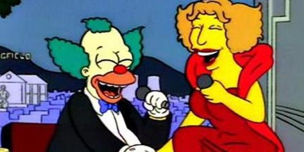 Simpsons Bette Midler