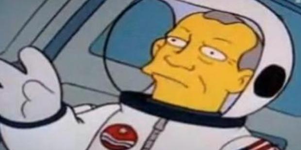 Simpsons Buzz Aldrin