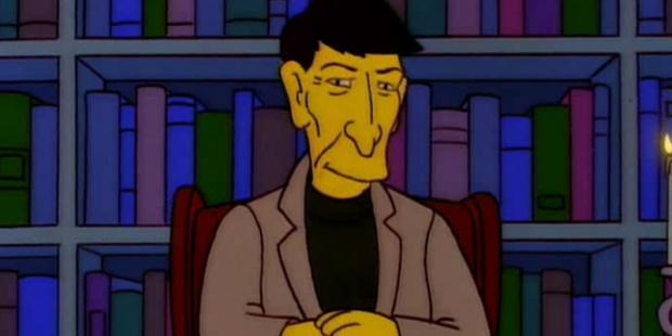 Simpsons Leonard Nimoy