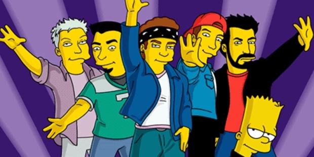 Simpsons N*SYNC