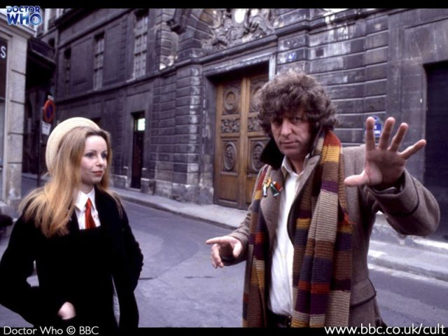 Tom Baker Lalla Ward