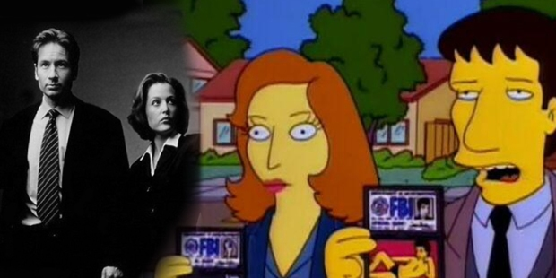 Simpsons X-Files