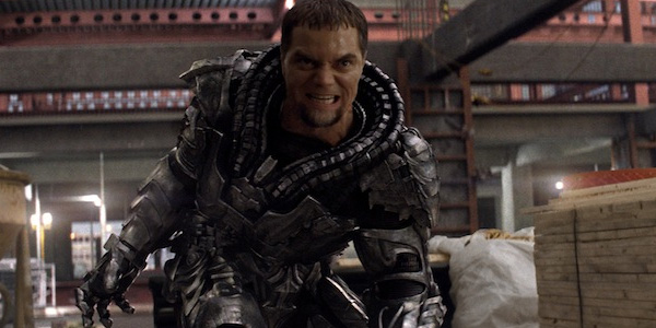Michael Shannon brought a confined amount of rage to General Zod