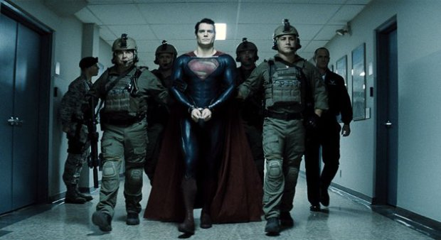 Henry Cavill fits perfectly into the role of Superman