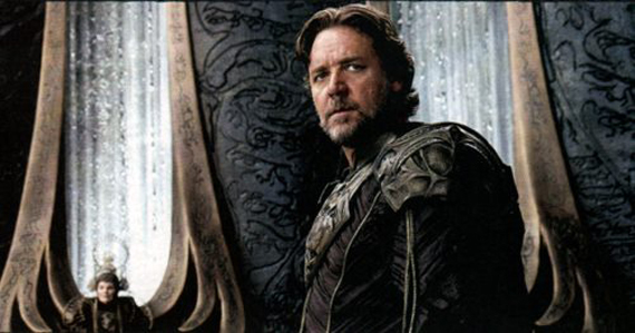 Russell Crowe's Jor-El had a meatier role than anticipated in the movie, and it was welcomed