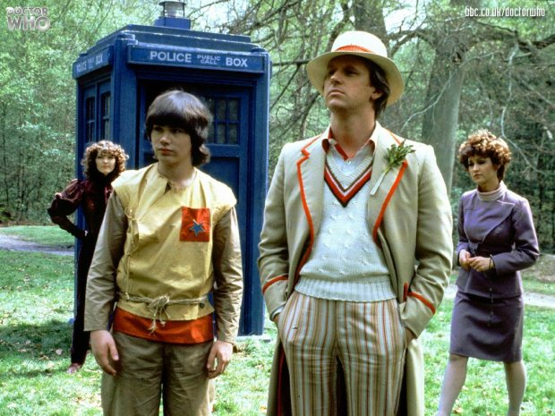 Fifth Doctor and Companions