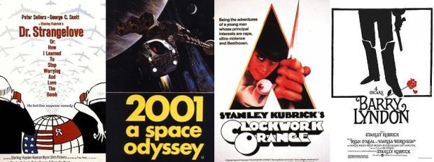 Kubrick films