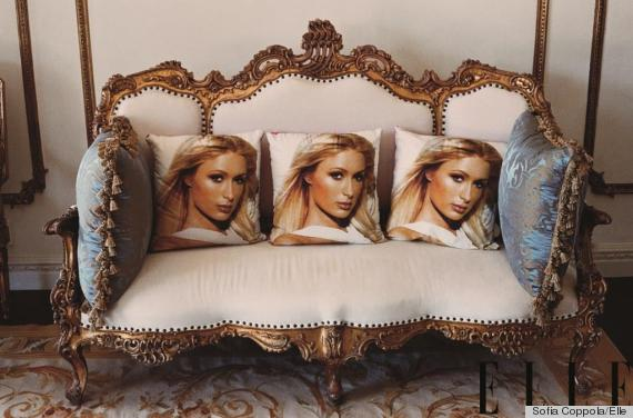 Paris Hilton Cushion