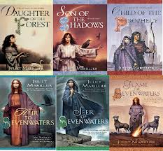 The books in the Sevenwaters Series